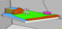 FUNDACION YPF MAQUETA 3D MODELADO