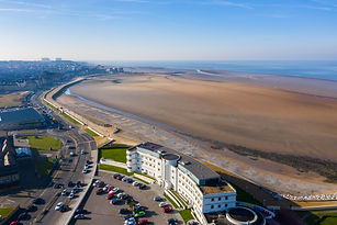 The Midland art deco hotel at Morecambe. Photo taken by New View Lancashire.
