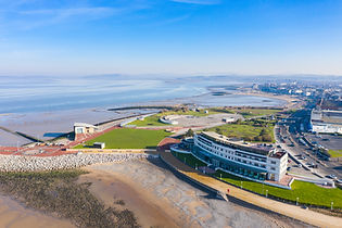 The Midland Hotel Morecambe Aerial Photohgraphy New View Lancasire Drone Services