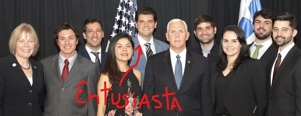 Jorge Martínez Lubiano Mike Pence Chile