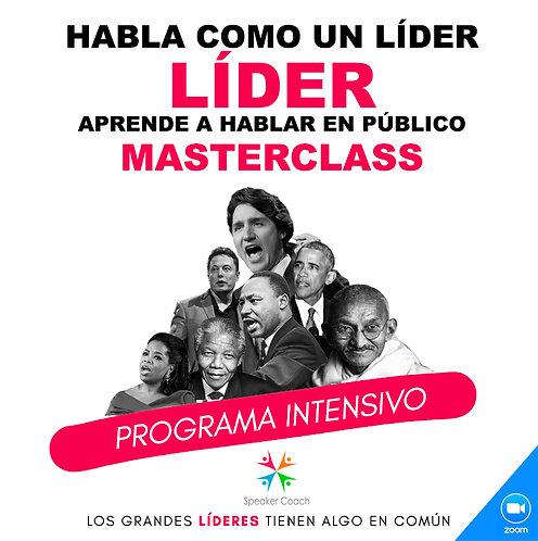 MasterClass Habla como un Líder - 1 Día