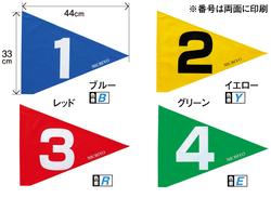 グラウンドゴルフ/G3101三角ストロング旗