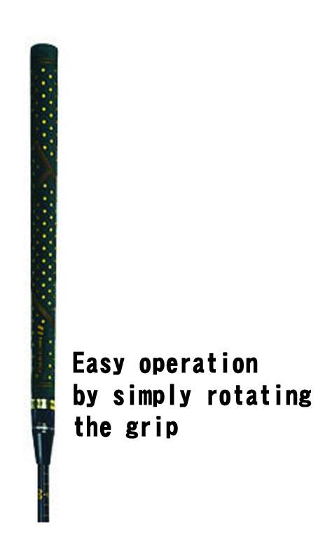 グリップズーム伸縮方法