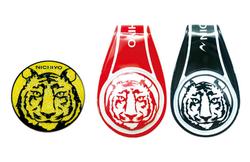 グラウンドゴルフ/虎マーカー/ソフトマーカーホルダー虎