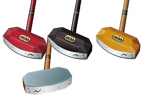 グラウンドゴルフクラブ/クリスタルカットモデル檜