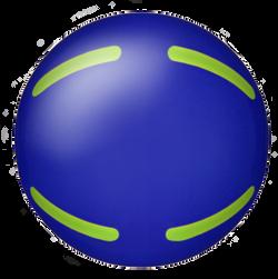 グラウンドゴルフ/ストライクボール/ライン形状