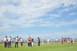 グラウンドゴルフ大会風景