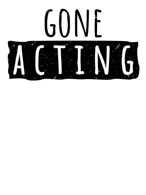 Plus Size Gone Acting T- Shirt