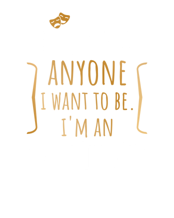 Im an Actor white