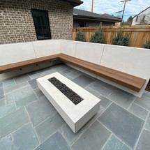 Floating Thermory Bench