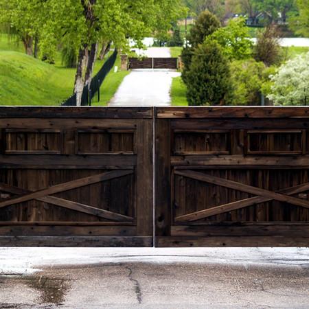 Large Double Gates