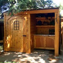 Cedar Potting Shed