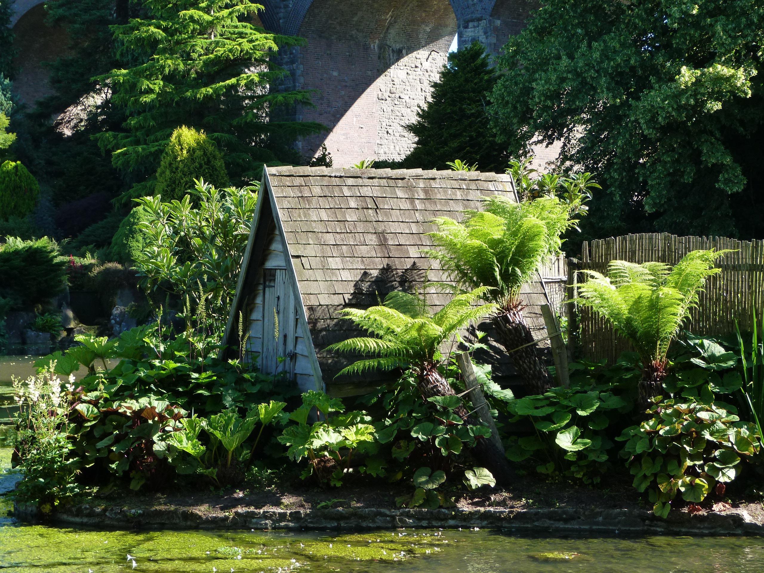 garden island design landscape