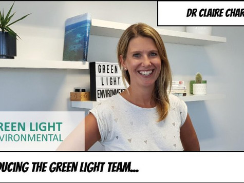 Introducing Dr Claire Charlton to the Green Light Environmental team