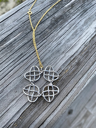 Heart of Salvation in Sterling Silver