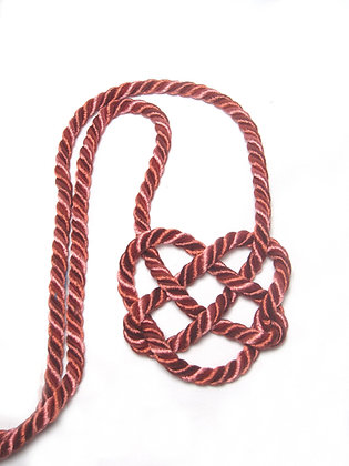 Red & Pink Heart Knot