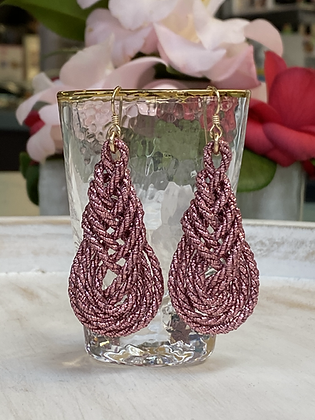 Pipa Earrings in Blush
