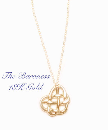 The Baroness in 18K Gold