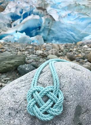 Glacier Double Heart Knot