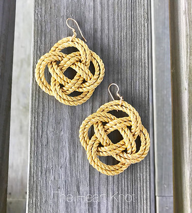 Circle Knot Earrings