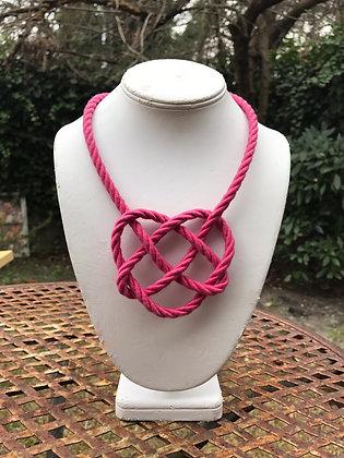 Pinkie Heart Knot