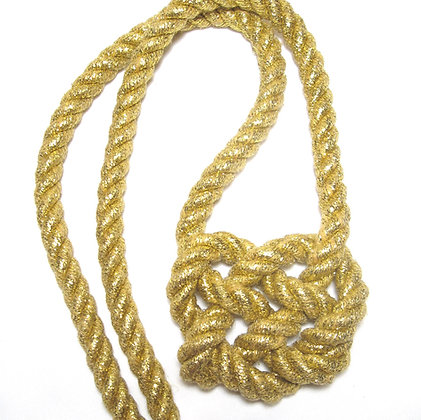 Golden Heart Knot - Large Line