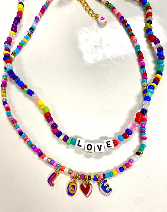 Letters in Love Necklace (TOP)