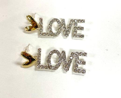 Diamonds of Love Earrings