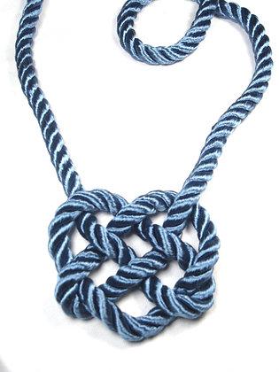 Sky Blue Heart Knot