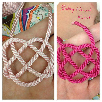 Baby Heart Knot