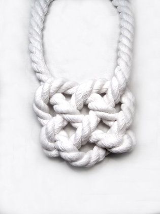White Nautical Heart