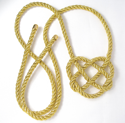 Golden Heart Knot - Tie Back