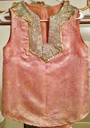 Shimmering Rose Tunic