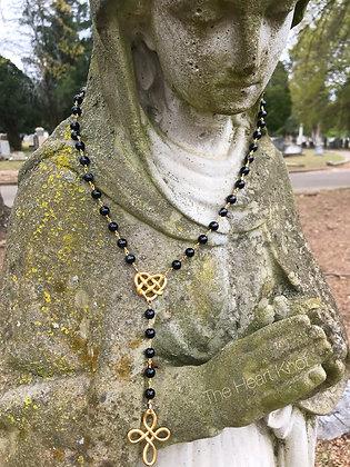 Virgin of Montserrat - Black Onyx