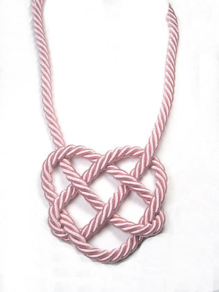 Pretty in Pink Heart Knot