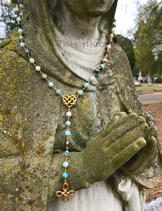 Our Lady of Guadalupe - Amazonite