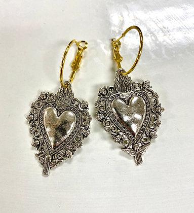Platinum Milagro Earrings