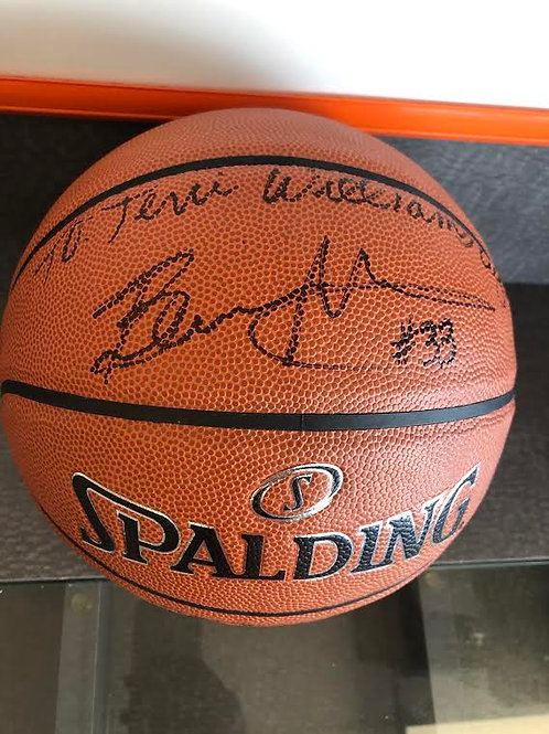 Personal Signed Autographed Basketball
