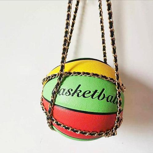 Caribbean Basketball Purse
