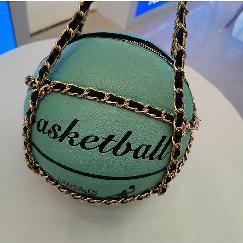 Tiffany Blue Basketball purse