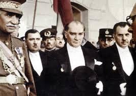 Atatürk törende