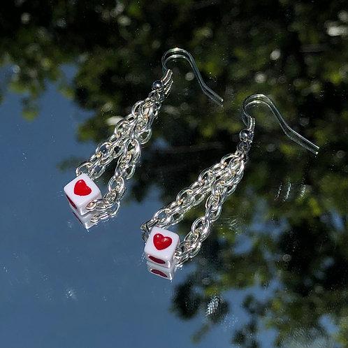 My little heart earrings