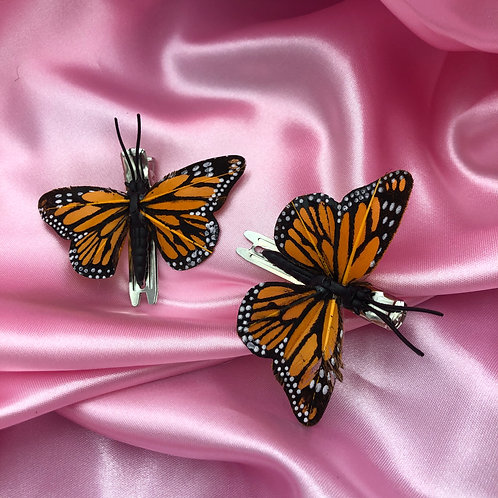 Butterfly Hair Clips