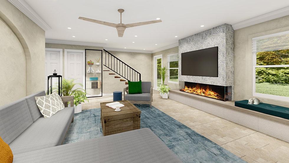 Living or Family Room Design