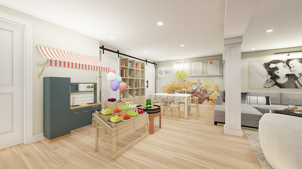 Play Room or Nursery Design