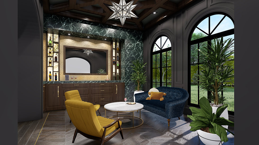 Wet Bar or Butler Pantry Design