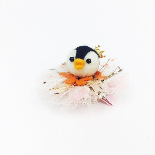 Lovely Penguin Hair Clip 可愛企鵝髮夾