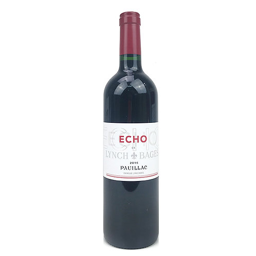 2016 Echo de Lynch Bages Chateau Haut-Bages Averous, Pauillac, 750ml 1R0041-FRA