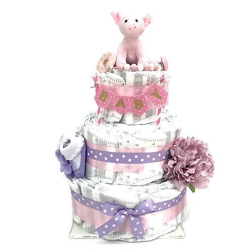 3 層尿片蛋糕 LGM3T039