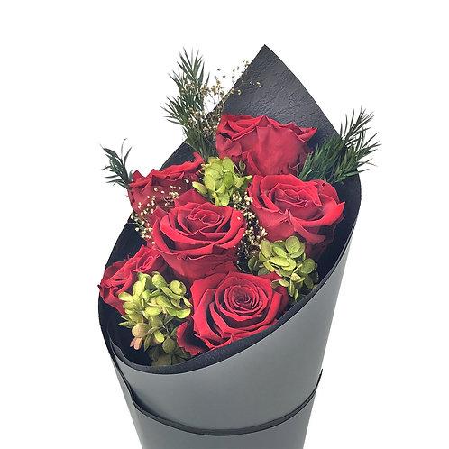 玫瑰花束 (永生花) PFF036